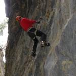 Drytooling Klettern